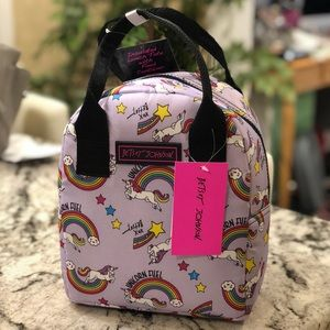 🌈🦄🐝Betsey Johnson Lunch Tote!🌈🦄🐝